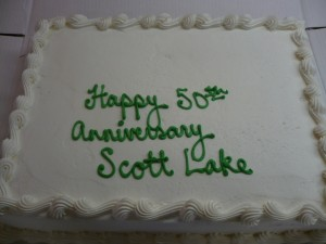 Scott Lake 50th Anniversary Cake